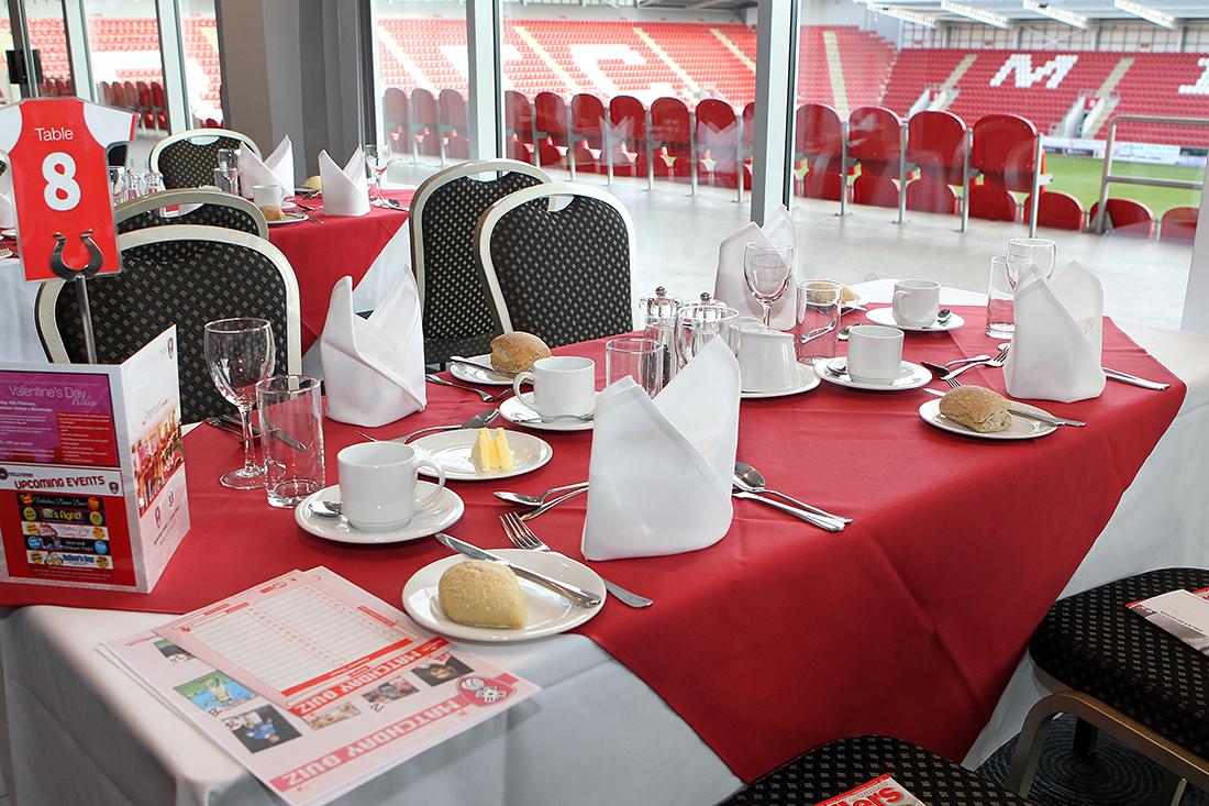 RU v Leyton Orient 065 Sponsors Lounge